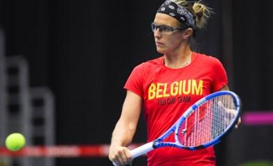 Flipkens vervangt Bonaventure in vierde enkelspel Fed Cup