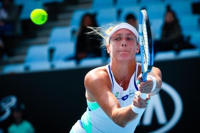 Yanina Wickmayer gaat onderuit in finale dubbelspel toernooi Midland