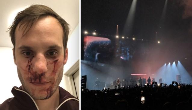 """Qmusicpresentator aangevallen in Brussel: """"Beetje vlees en bloed verloren, maar gsm kunnen verdedigen"""""""