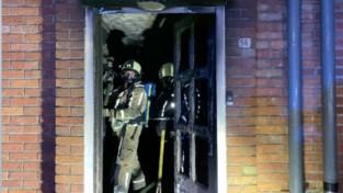 76-jarige vrouw naar ziekenhuis na brand in haar woning