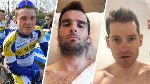 """Drie Belgen braken hun sleutelbeen in hun eerste koers: """"Een hele winter gewerkt en nu lig ik in de zetel naar 'Friends' te kijken"""""""
