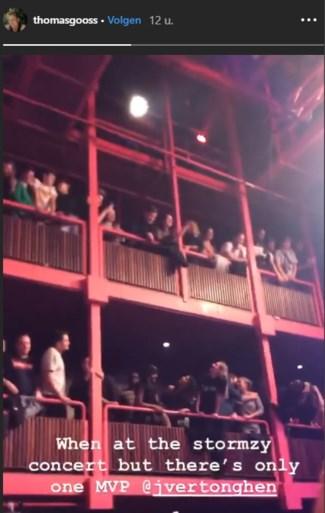 En plots zingt iedereen op concert van Stormzy voor... Jan Vertonghen