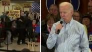 Opmerkelijke momenten tijdens de voorverkiezingen: Joe Bidens vrouw gooit demonstrant buiten