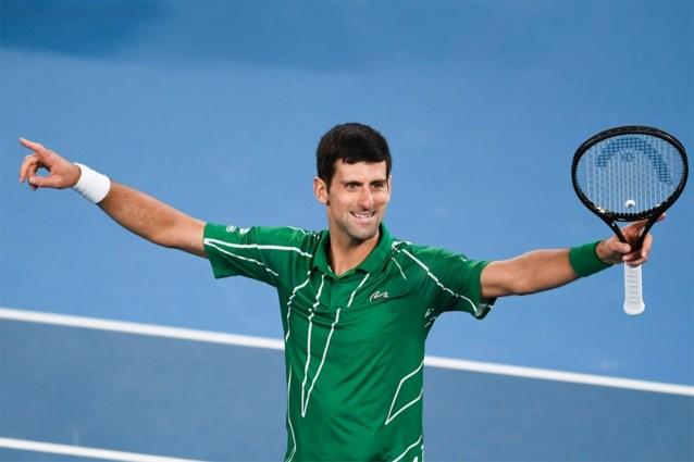 Novak Djokovic stelt zijn ideale tennisser samen: de service van Kyrgios, de forehand van Nadal en ook David Goffin ontbreekt niet