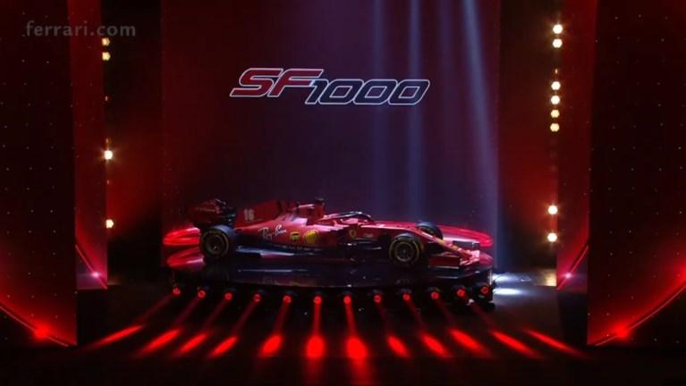 Ferrari onthult nieuwe bolide voor 2020: de SF1000