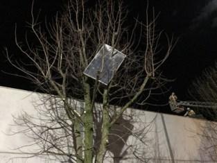 Storm Ciara slaat weer toe: enorme schade aan auto's en gebouwen nadat 200 zonnepanelen wegwaaien