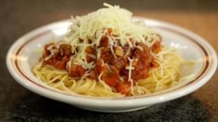 Het Nest feest met Spaghetti