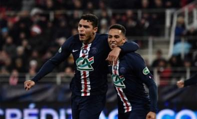 Thomas Meunier kent met PSG geen problemen tegen Dijon in de Franse beker, Denayer schakelt Marseille uit