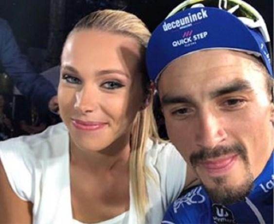 Nieuw koppel in wielerland: Julian Alaphilippe slaat Marion Rousse aan de haak