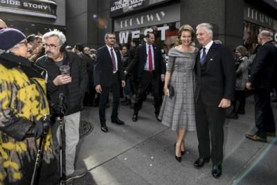 """Niemand onder de indruk van Filip en Mathilde in New York, tot ze horen welke job ze uitoefenen: """"Oh my God!"""""""