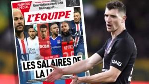 Hallucinante cijfers: L'Equipe maakt toplonen in Frankrijk en andere grote landen bekend, vraagteken bij Thomas Meunier