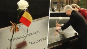 Koning Filip plant roos voor enige Belgische slachtoffer 9/11, maar dat loopt niet helemaal van een leien dakje