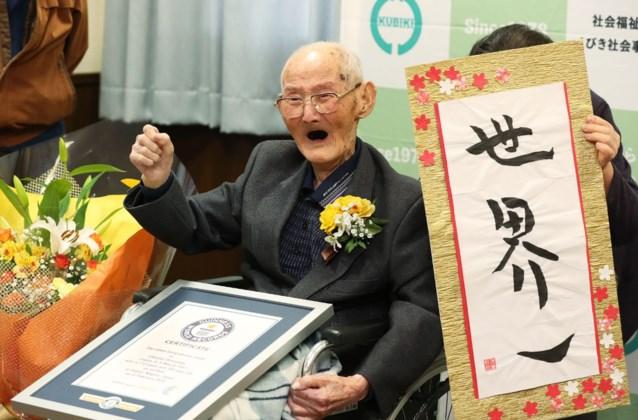 112-jarige Japanner is oudste man ter wereld