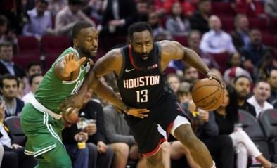 James Harden en Russell Westbrook beëindigen met Houston NBA-zegereeks van Boston