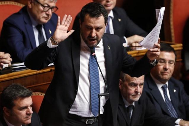 Italiaanse Senaat zet licht op groen voor vervolging Matteo Salvini