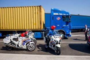 Bestuurder van lichte vrachtauto test positief op amfetamines