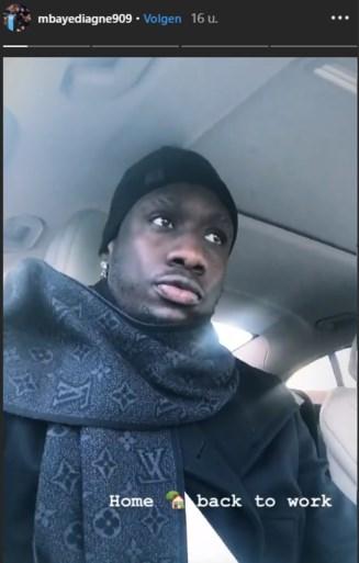 Mbaye Diagne is terug in Brugge (maar een nieuwe kans bij Club is uitgesloten)