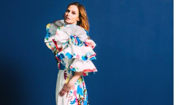 Om van te watertanden: in zo een 'lekkere' jurk zag je Isabelle A nog nooit