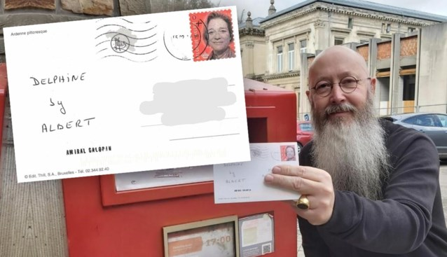 Man verwelkomt Dephine Boël in koninklijke familie met eigen postzegel, brief komt aan