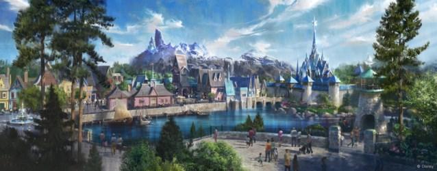 Eerste plannen voor 'Frozen Land' in Disneyland Paris uitgelekt: zo mooi ziet Arendelle eruit