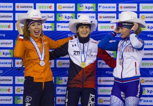 Sablikova verlengt wereldtitel op 3.000 meter op het WK schaatsen