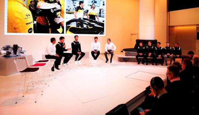 Waarom toonde Renault haar nieuwe F1-bolide niet?