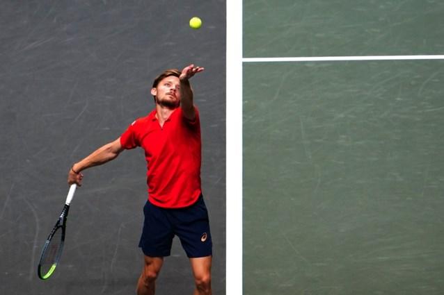 Goffin kraakt tegen achttienjarige Sinner in achtste finales Rotterdam