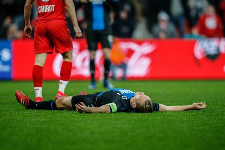 """REACTIES. """"Veld uit eerste provinciale"""" zorgt voor ergernis bij Club Brugge: """"Zo'n knollentuin kan eigenlijk niet"""""""