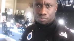 Diagne traint terug in Brugge en kleurde zijn haar blauw en zwart