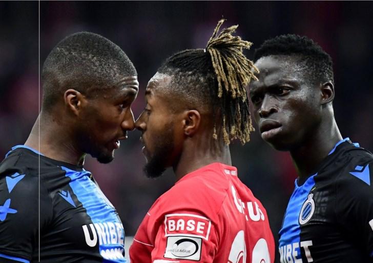 Vechten in plaats van voetballen maar  Club Brugge behoudt bonus in stand na puntje in vervelende topper tegen Standard