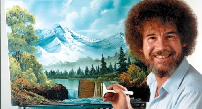De duffe schilder die een cultheld werd: Bob Ross overleed 25 jaar geleden, maar doet vandaag een hele industrie draaien