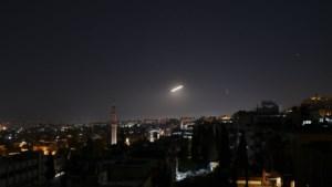 Syrische luchtbescherming onderschept raketten in buurt van Damascus