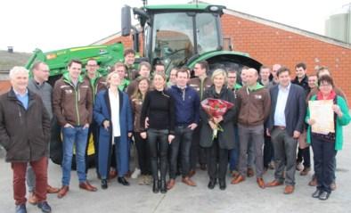 Jonge landbouwers verklaren minister hun liefde