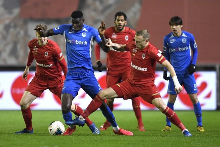 Geen penalty voor Genk, geen ultieme winning goal voor Antwerp: zo blijft het spannend voor laatste ticket voor Play-off 1