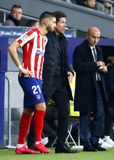 Tielemans en Dendoncker houden elkaar in evenwicht, Carrasco kan puntenverlies van Atletico niet afwenden