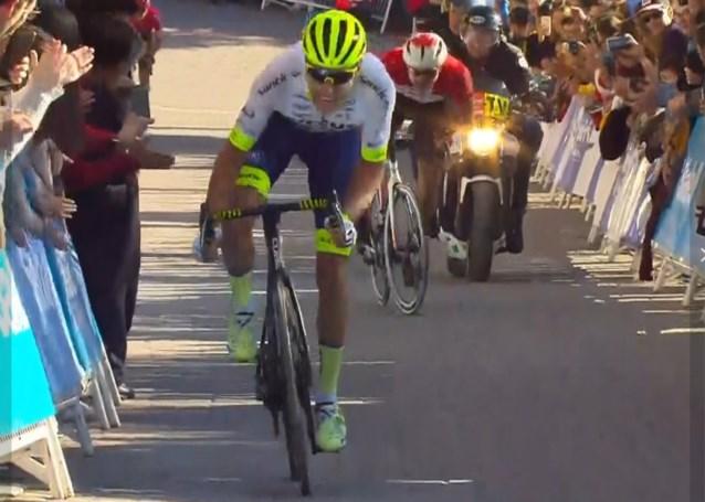 Xandro Meurisse wint de eerste etappe in de Ronde van Murcia