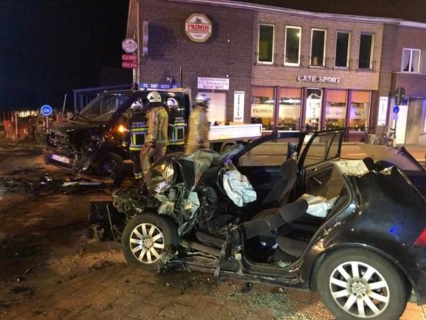 Twee slachtoffers kritiek na frontale aanrijding in Rijkevorsel