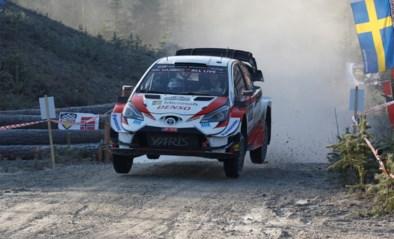 Elfyn Evans blijft leider, Neuville sluit dag af op zesde plaats in Rally van Zweden