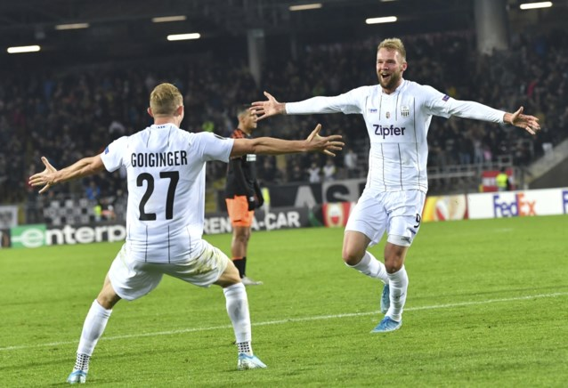 Sensatie in Oostenrijk: ploeg die verloor van Club Brugge maakt einde aan straffe reeks van Salzburg en wipt naar koppositie