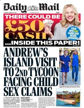 Prins Andrew opnieuw in opspraak, vriend opgepakt voor verkrachting tieners