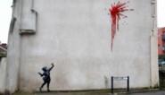 Banksy viert Valentijn