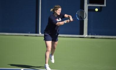 Meteen een zware dobber voor Kim Clijsters bij haar grote comeback