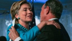 """""""Michael Bloomberg denkt aan Hillary Clinton als running mate"""""""