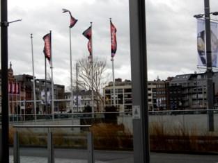 Hevige regen en wind in Sint-Niklaas