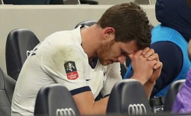 Geen plek meer in de basis voor Vertonghen bij Tottenham, owngoal én doelpunt van Alderweireld