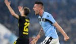 Lazio Roma geeft Lukaku en Inter Milaan ferme tik in de titelstrijd