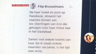 Twitterrel tussen Ann Vermeulen (Groen) en Filip Brusselmans (VB) ontspoort