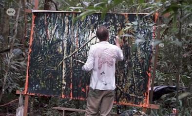 Antwerpse kunstenaar schildert in het Colombiaanse Amazonewoud