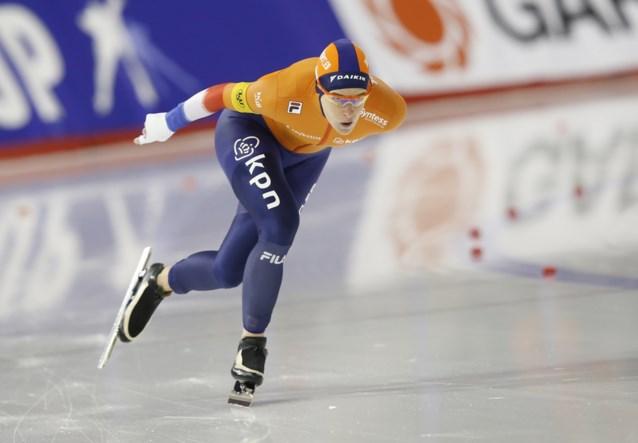 Ireen Wüst verlengt wereldtitel op 1.500 meter