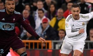 Hazard keert terug met uitgelokte penalty en vinnige acties, maar Real raakt niet voorbij laagvlieger